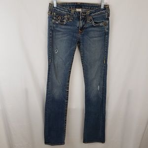 True Religion Distressed Jeans Size 27